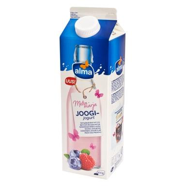 ALMA Metsamarjamaitseline joogijogurt 900g(pure)