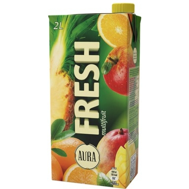 AURA Fresh multifruit 2l