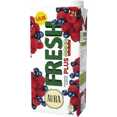 AURA Fresh Plus Metsamarja mahlajook 2l