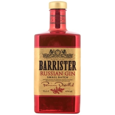 BARRISTER Russian Gin 43% 70cl