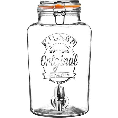 BEST Purk 5L kraaniga, klaas (Kilner)