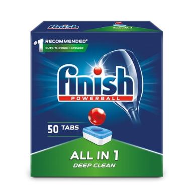 FINISH All in 1 Nõudepesumasinatabletid 50tk