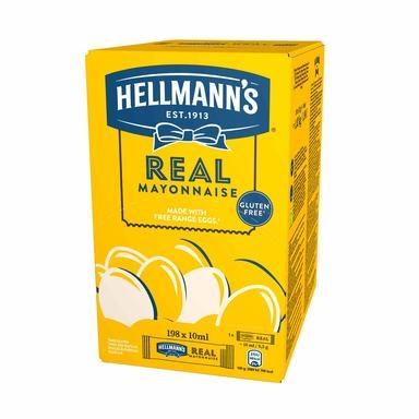 HELLMANN'S Majonees portsjoni 198tk 10ml