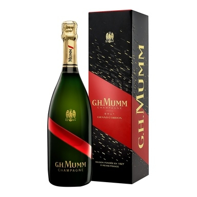MUMM Champagne Grand Cordon Brut 12% 75cl(kuiv,karbis)