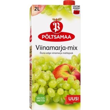 PÕLTSAMAA Õuna-valge viinamarja mahlajook 2l