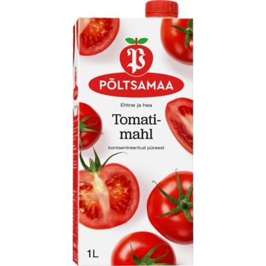 PÕLTSAMAA Tomatimahl 100% 1l