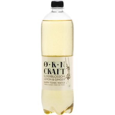 ØRN CRAFT Tonic water Elderblossom Lemon&Ginger 1l(pet)