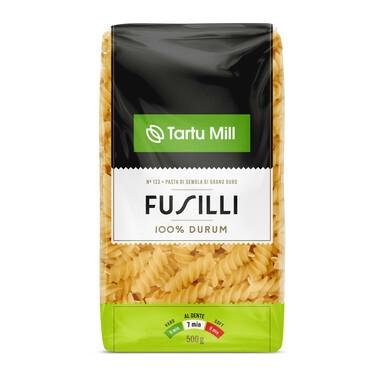TARTU MILL Fusilli 100% durum 500g(spiraalid)